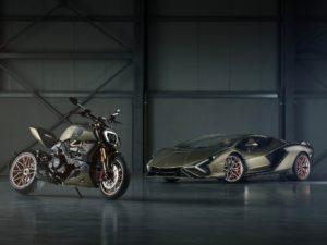 Ducati Diavel 1260_Lamborghini Sian FKP37 صورة 3_ صورة جانبية ل